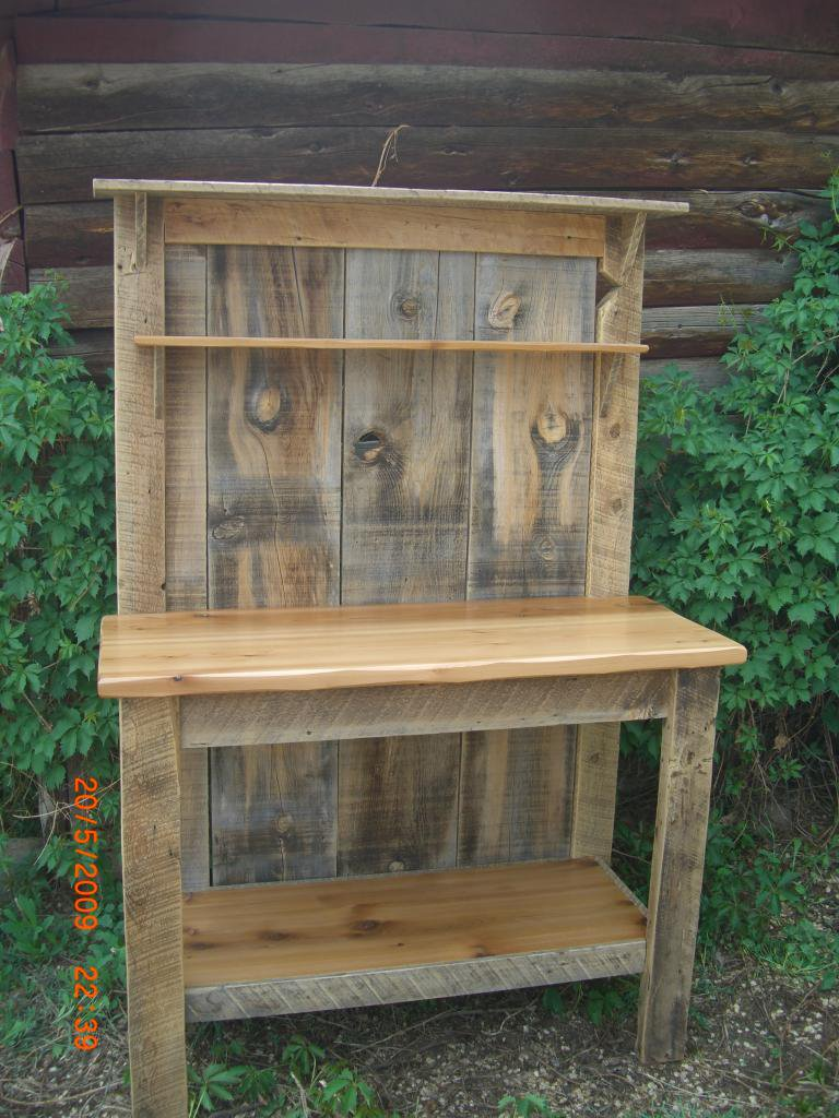 Reclaimed barnwood furniture asr custom woodworking Furniture made from barn wood